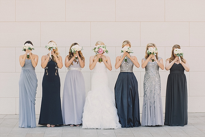 We love this sweet snap of the Bride and her Bridesmaids!