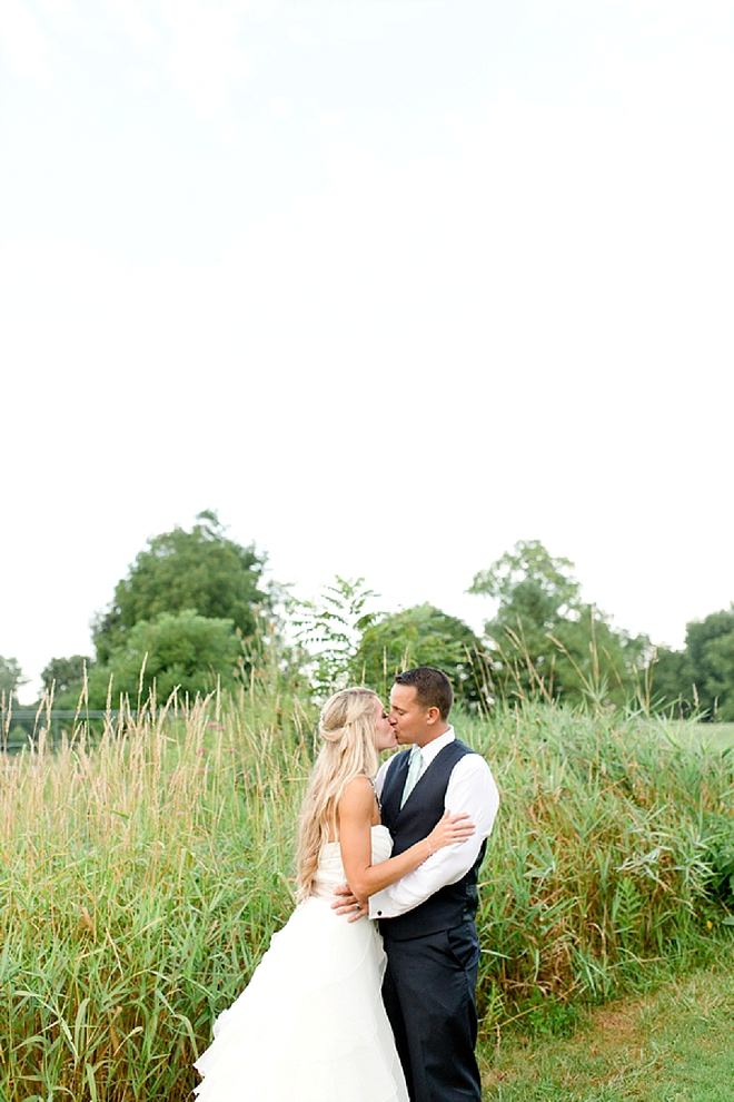 We're crushing on this dreamy affair on the blog now!