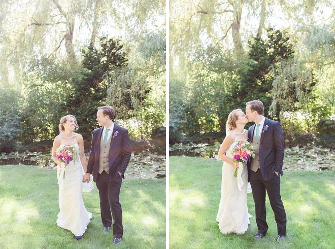 Crushing on this super cute backyard wedding!