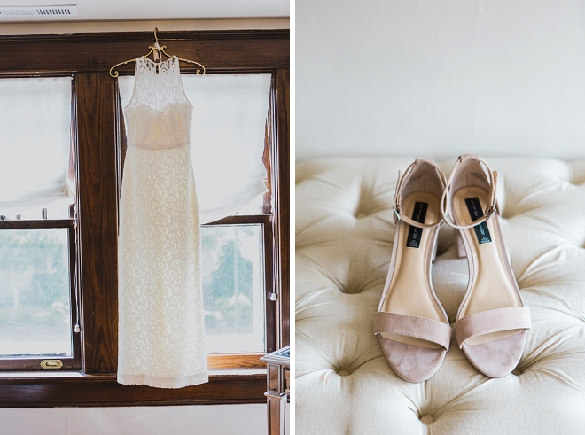 Swooning over this Bride's stunning dress shot + shoes!
