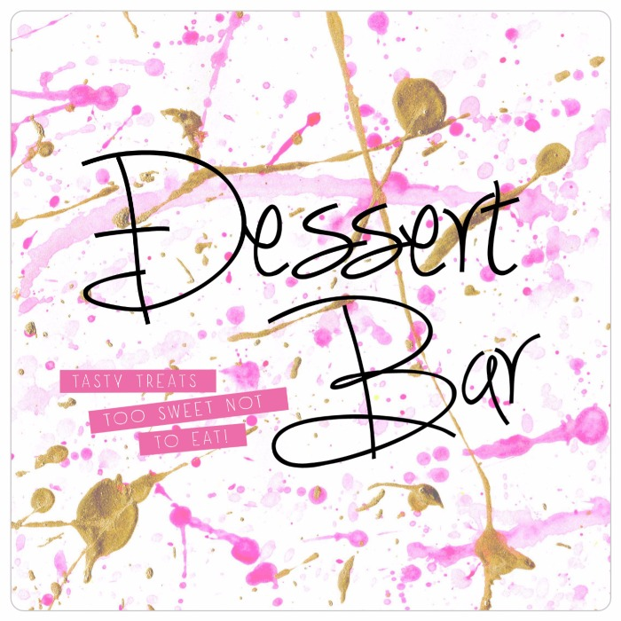 Cute free printable for the DIY bride: dessert bar print!