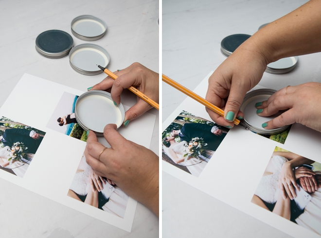 These are the BEST do it yourself photo coasters ever!