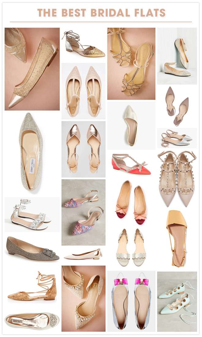 Seriously the all time best wedding flats!