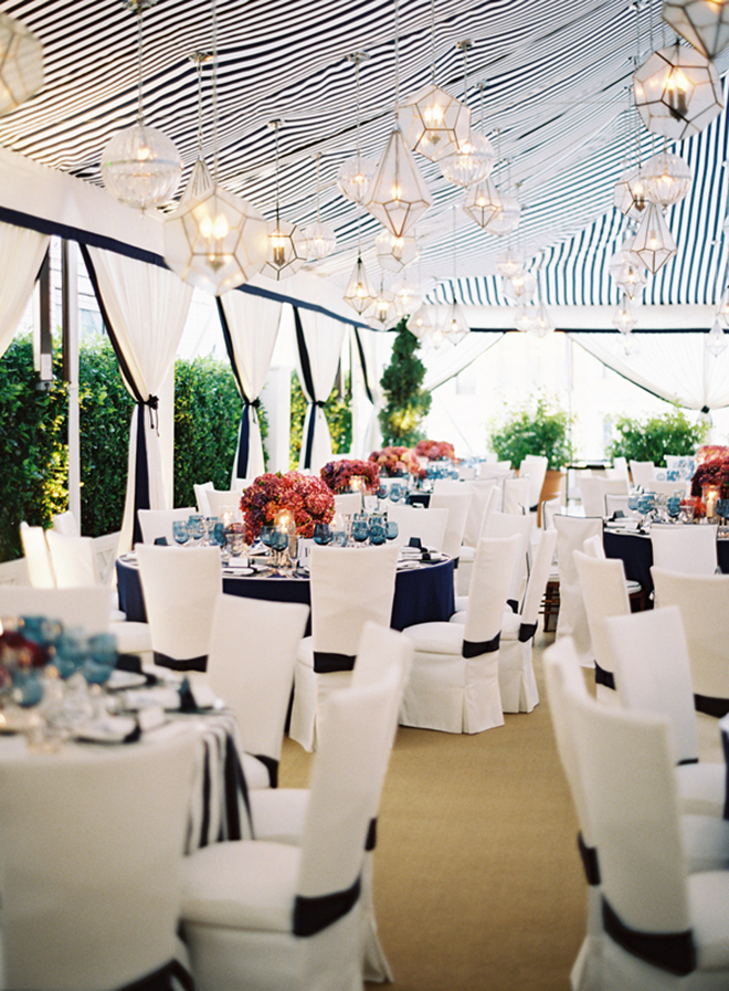 Chair covers can look modern and be a stylish option for your rentals.