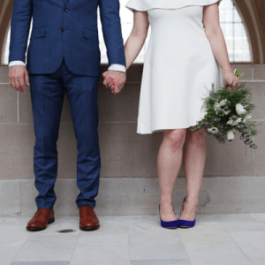 Crushing on this super darling couple and their court house I Do's!