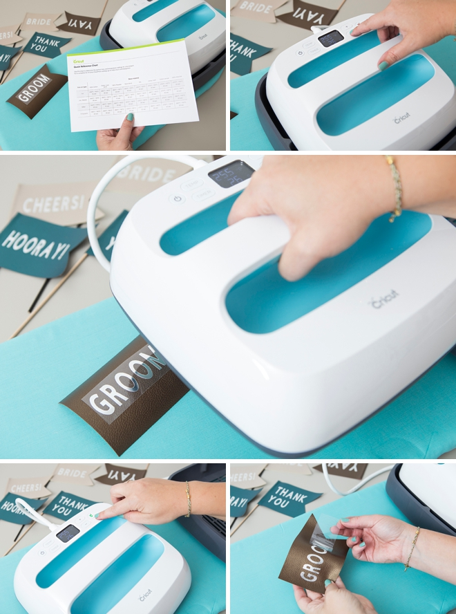 Have you seen the Cricut EasyPress yet? It's an iron and a heat press combined and it's amazing!