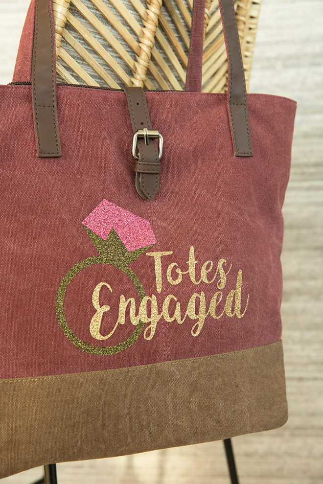 Don't forget your Totes Engaged tote for your Bridal Expo!