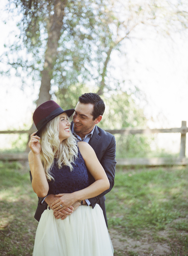 How cute is this engagement session?! We're swooning!!