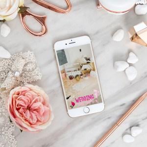 FREE wedding craft night Snapchat geofilter!