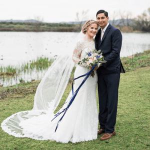 We're crushing hard on this super sweet handmade wedding!