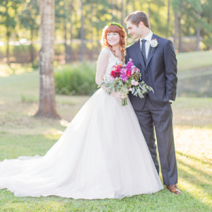 We are in LOVE with this gorgeous couple and their stunning DIY wedding!