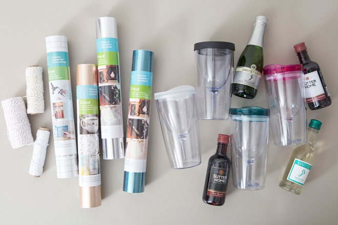 These Diy Personalized Wine Tumblers Are The Cutest
