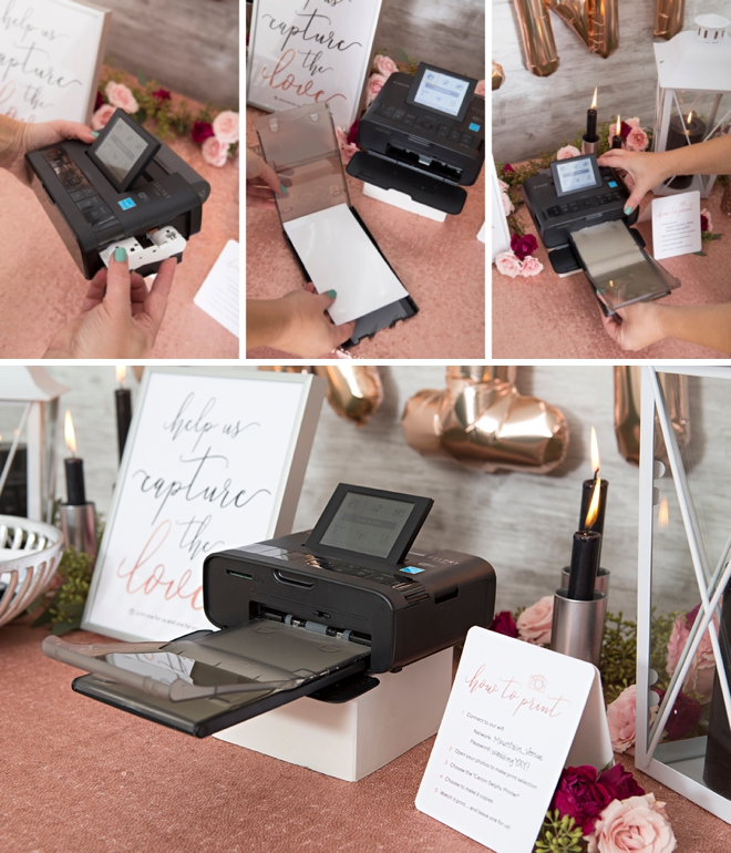 How to set up and use the Canon Selphy printer, it's so easy!