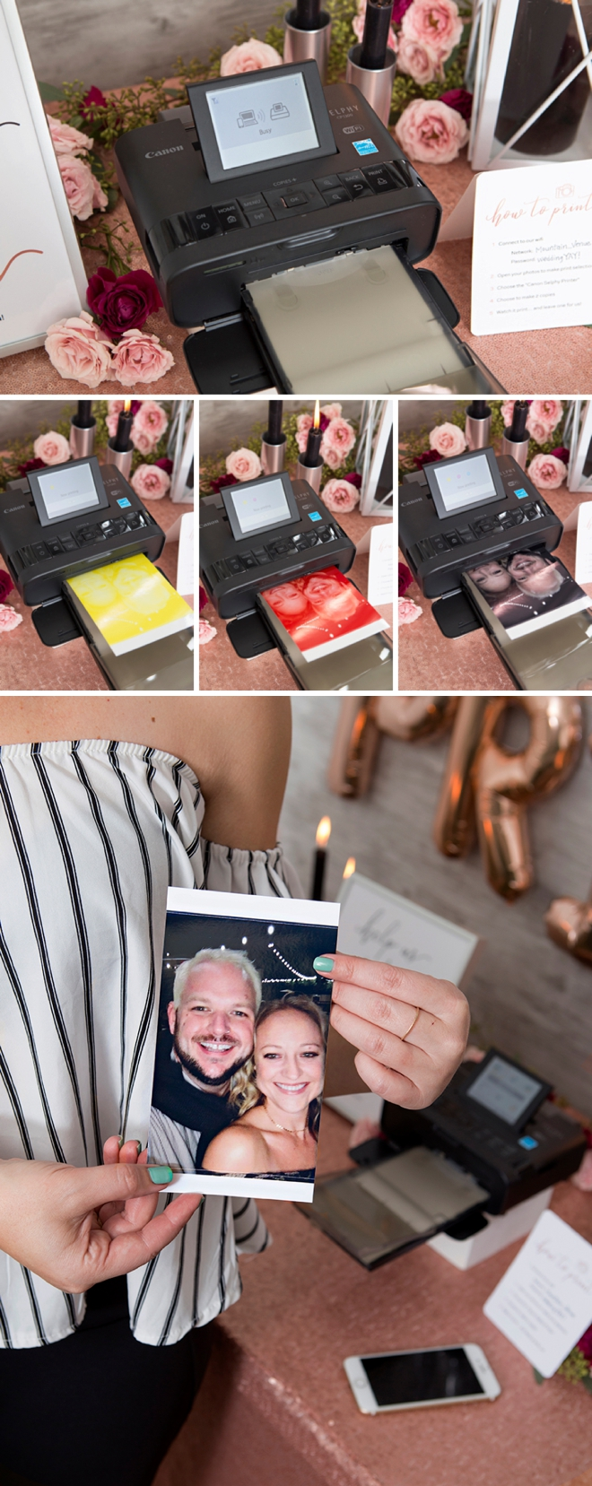 How to use AirPrint and the Canon Selphy printer!