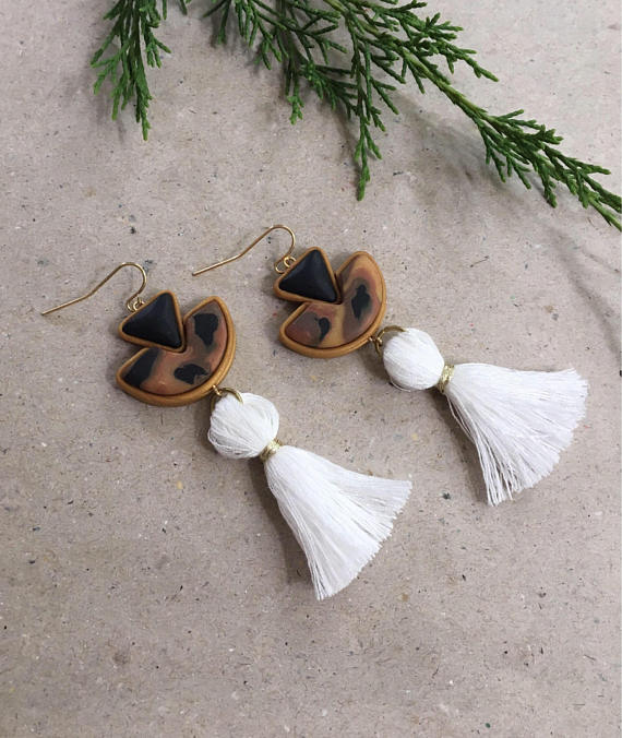These gorgeous handmade tassel earrings will be your new go to!