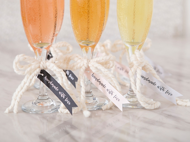 Woah, these DIY champagne candles are AMAZING!