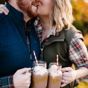 How darling is this cozy e-sesh?! LOVE!