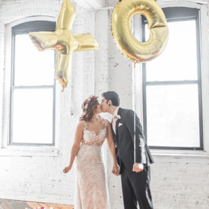 How adorable is this styled Valentines Day shoot?! We LOVE it!