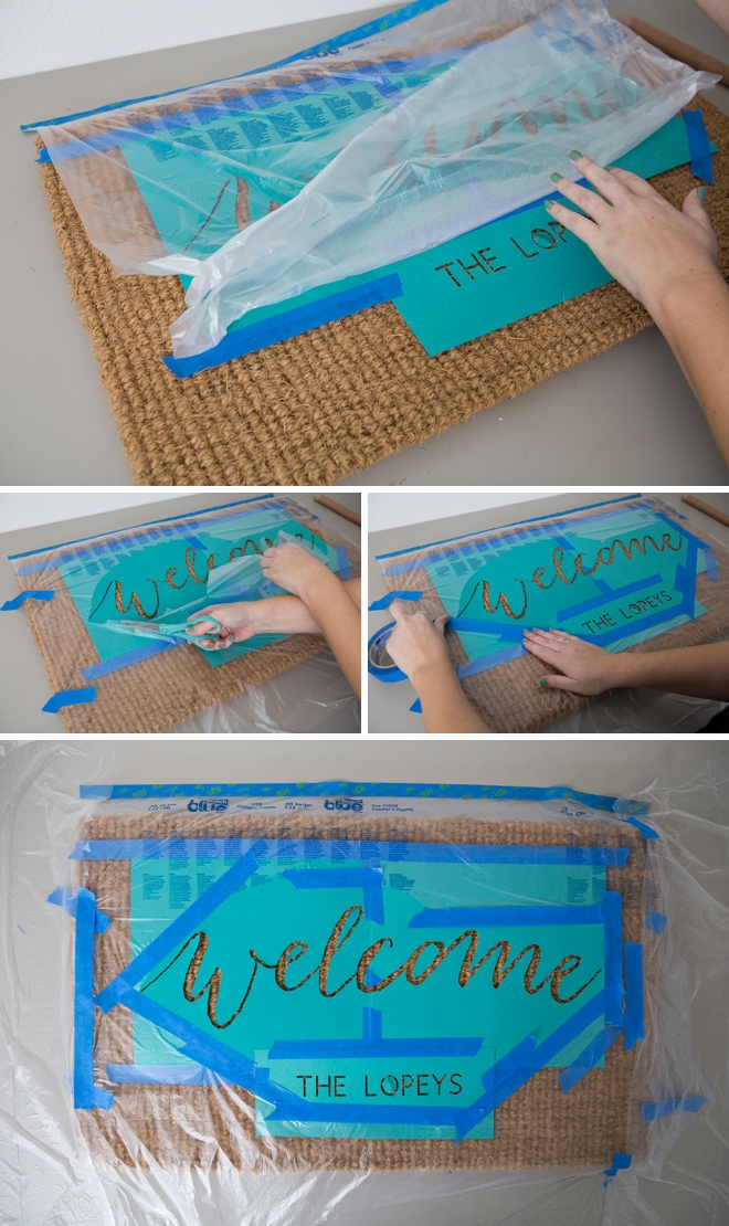 Learn how to personalize your own doormat!