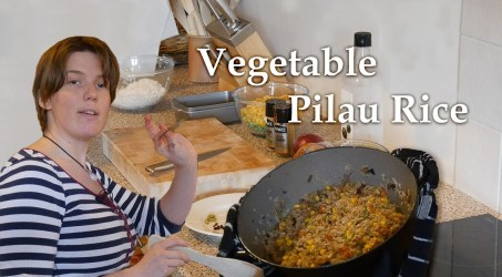 How to make Vegetable Pilau Rice