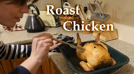 Jo Roasts a Chicken