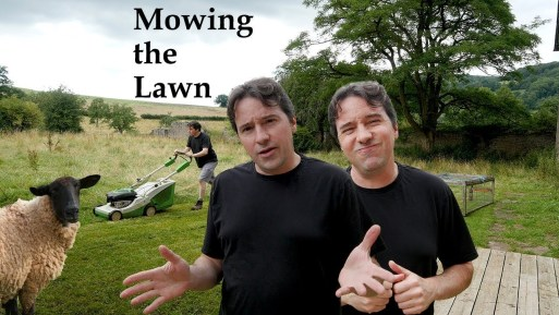 Mowing the Lawn – An unkempt half acre.