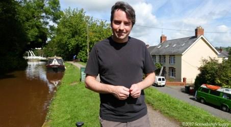 Talybont on Usk, a lovely Welsh village.