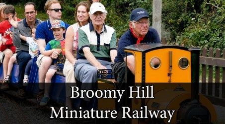 Broomy Hill Miniature Railway!