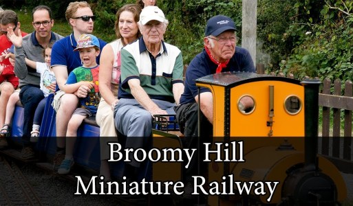 Broomy Hill Miniature Railway!