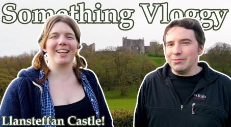 LLANSTEFFAN CASTLE! Part Three of our Mini Castle Road Trip!