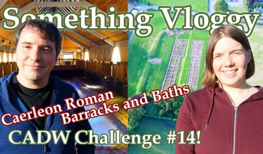 Caerleon Roman Barracks and Baths – 2000 Year Old  Swimming Pool – CADW Challenge #14