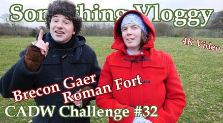 Brecon Gaer Roman Fort- 2000 Years And Still There… Partly – CADW Challenge #32