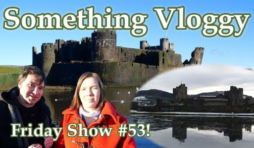 Exploring Caerphilly Castle In The Snow And In Spring – Friday Show #53