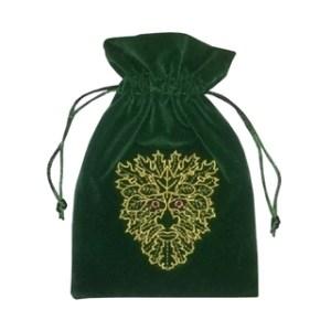 Green Man Tarot Bag