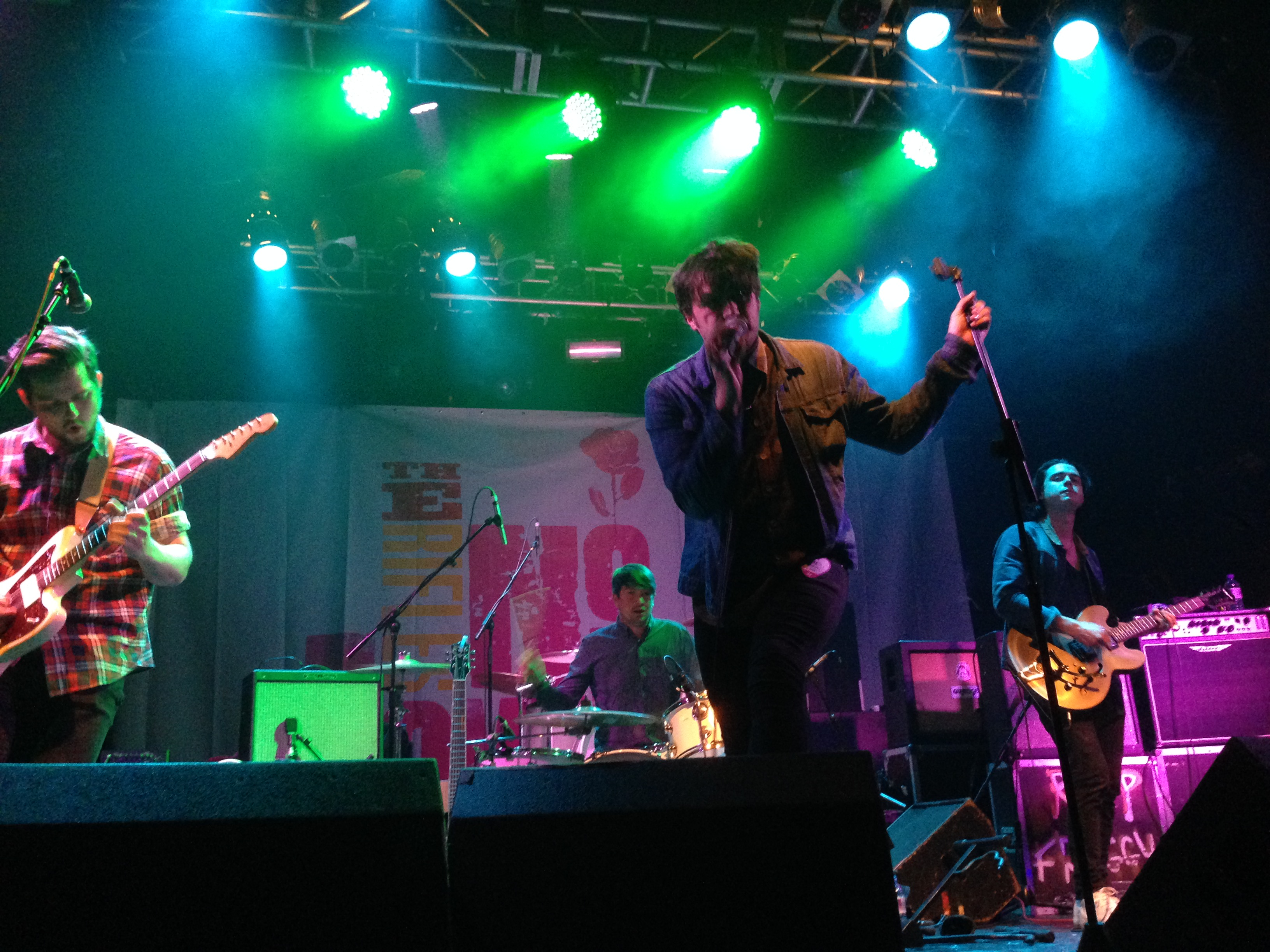 187 Live Review The Rifles In London Something You Said