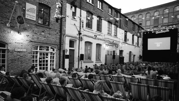 Backyard Cinema in Camden