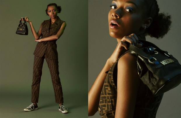Photo: George Sandman Popov. Model: Sophie @ London Management Styling: Kurt Johnson Hair and Makeup: Jen Kilpatrick