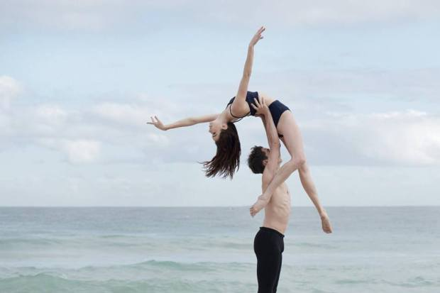Simone Kerr balletto body