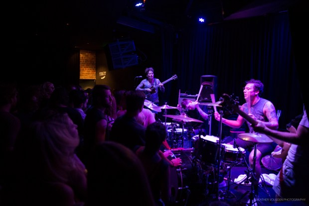 THEE OH SEES and STRAIGHT ARROWS at NEWTOWN SOCIAL CLUB 15.01.16