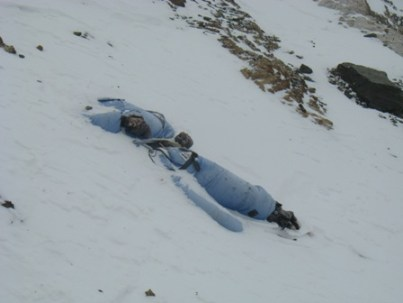 Mount Everest bodies