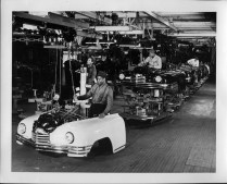 Packard factory assembly