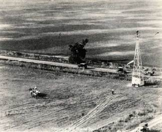 Intermediate Field with tower in Nebraska