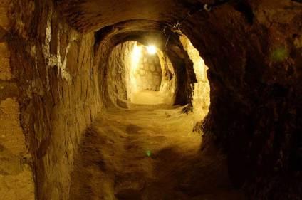 Derinkuyu Cappadocia Turkey underground tunnels