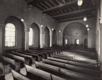 Inside Pressmen's Home Memorial Chapel