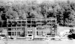 Trade school building under construction
