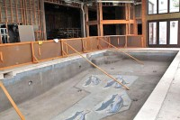 unfinished indoor pool