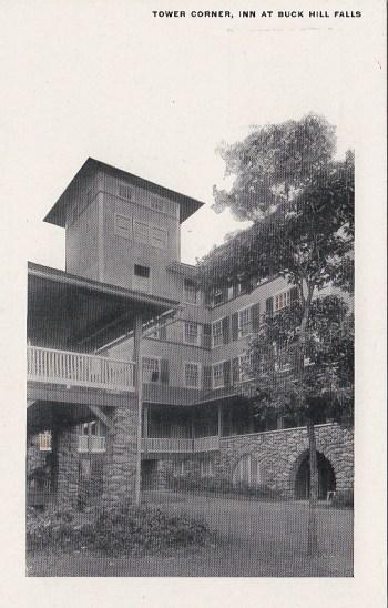 Corner tower, 1905