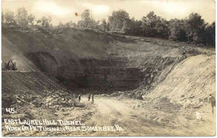 East side, Laurel Hill dig