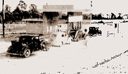 PT toll booth, circa 1940s