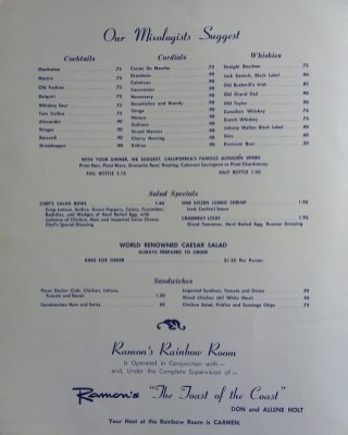 Ramons-Rainbow-Room-Drink-Menu